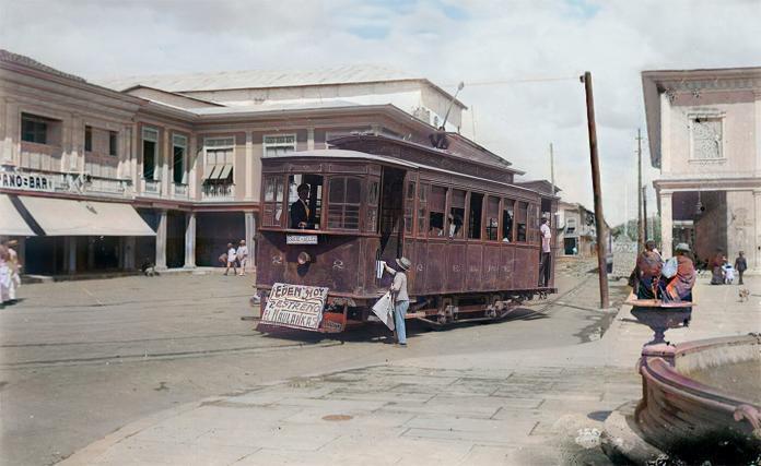 Tranvía en Guayaquil Ecuador